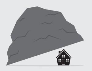 house under rock
