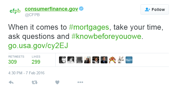 CFPB reaction to Rocket Mortgage